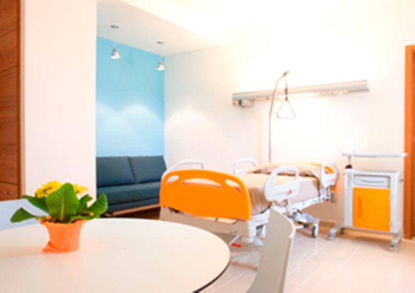 Progetto di interni per una clinica privata