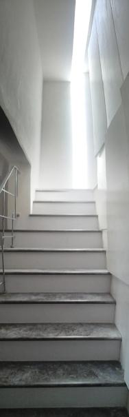 Ristrutturazione appartamento Noto. Scala interna